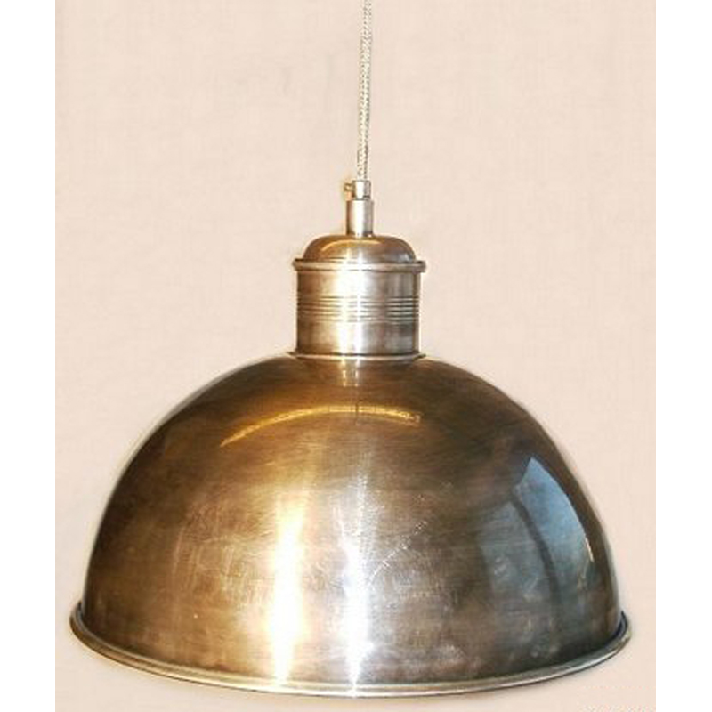 Large Pewter Dome