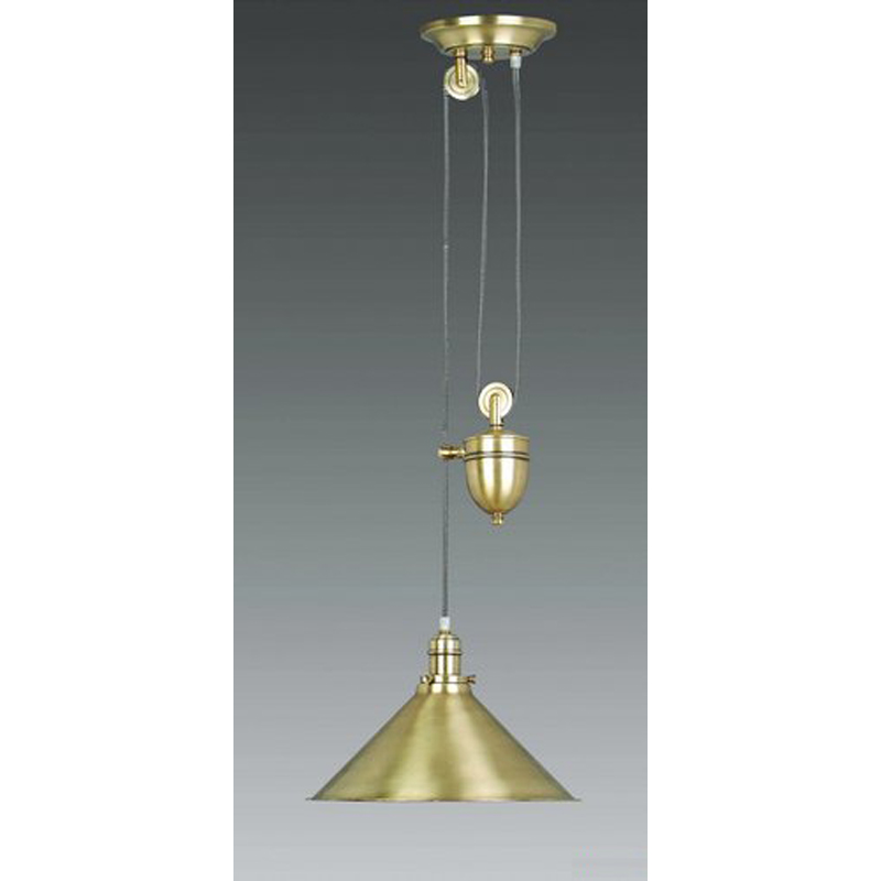 Brasserie Rise and Fall, antique brass