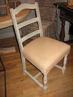 Reproduction ladder back chair